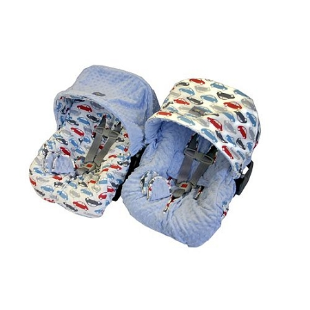 itzy ritzy infant car seat cover rodeo blue petite enchantments. Black Bedroom Furniture Sets. Home Design Ideas