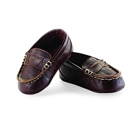 Mud Pie Leather Loafers