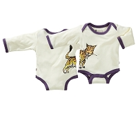 Janey Baby Bodysuit Lynx