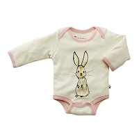 Janey Baby Bodysuit Rabbit