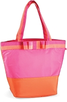 Mud Pie DLX Cooler Tote Pink/Orange