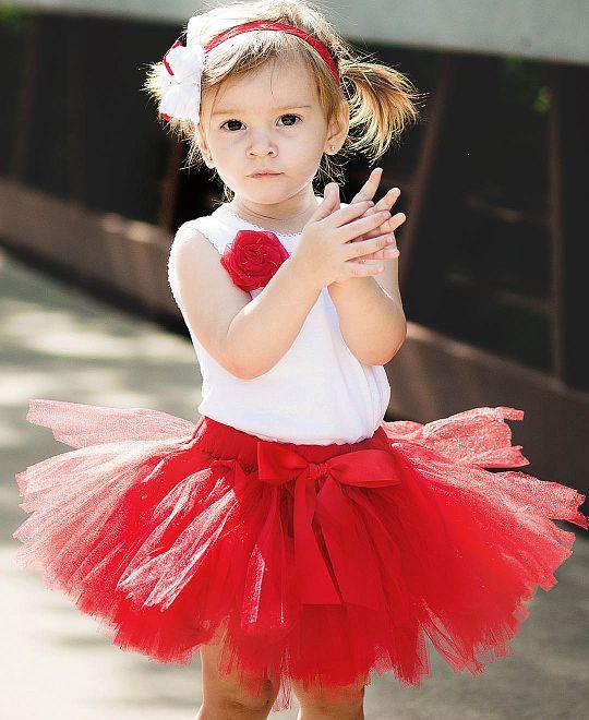 Фатиновая юбка для девочки