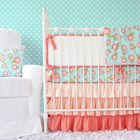 Caden Coral Floral Swatch Kit