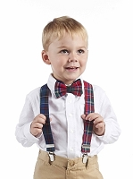 Mud Pie Bow Tie and Suspender Set