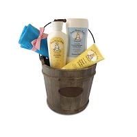 BABY BASICS BASKET - Three of our most popular products plus a diaper bag organizer.