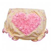 Cheek Banana Victoria Rose Ivory Bloomer