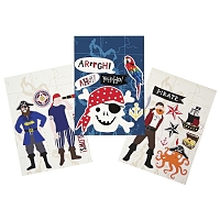 Meri Meri Ahoy There Pirate Wall Stickers
