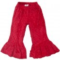 Cheeky Banana Red Minky Dot Pants