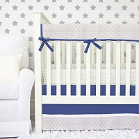 Caden Lane All Star Silver Baby Bedding Swatch Kit