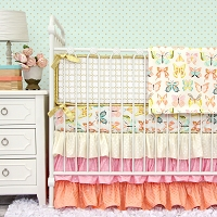Caden Lane Buttercup Crib Bedding Swatch Kit