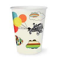 Vintage Airplane Cups