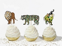 Animal Parade Cupcake Topper