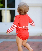 Rugged Butts Dear Santa Long Sleeve Onesie