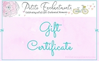 Petite Enchantments Gift Certificate