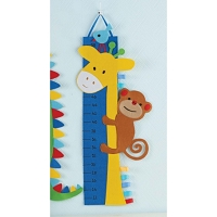 Mud Pie Giraffe Growth Chart