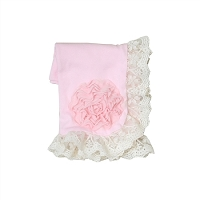 Haute Baby Pink Lullaby Receiving Blankets