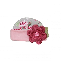 Haute Baby Ruby Rose Girl's Cap