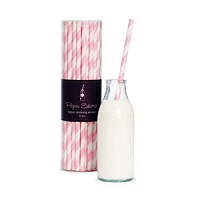 Paper Eskimo Paper Straw Marshmallow Pink
