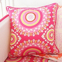 Caden Lane Piper's Paisley Square Pillow Cover