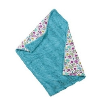 Maison Chic Turquoise Fur Blanket