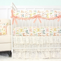 Caden Lane Vintage Lace Baby Bedding Swatch Kit